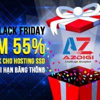 AZDIGI giảm giá sốc Black Friday và Cyber Monday 2017