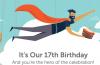 Khuyến mại hấp dẫn mừng sinh nhật lần thứ 17 của Namecheap
